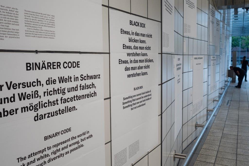 img_Adrian Sauer, *Glossar* © Biennale für aktuelle Fotografie, Foto: Andreas Langfeld, 2017